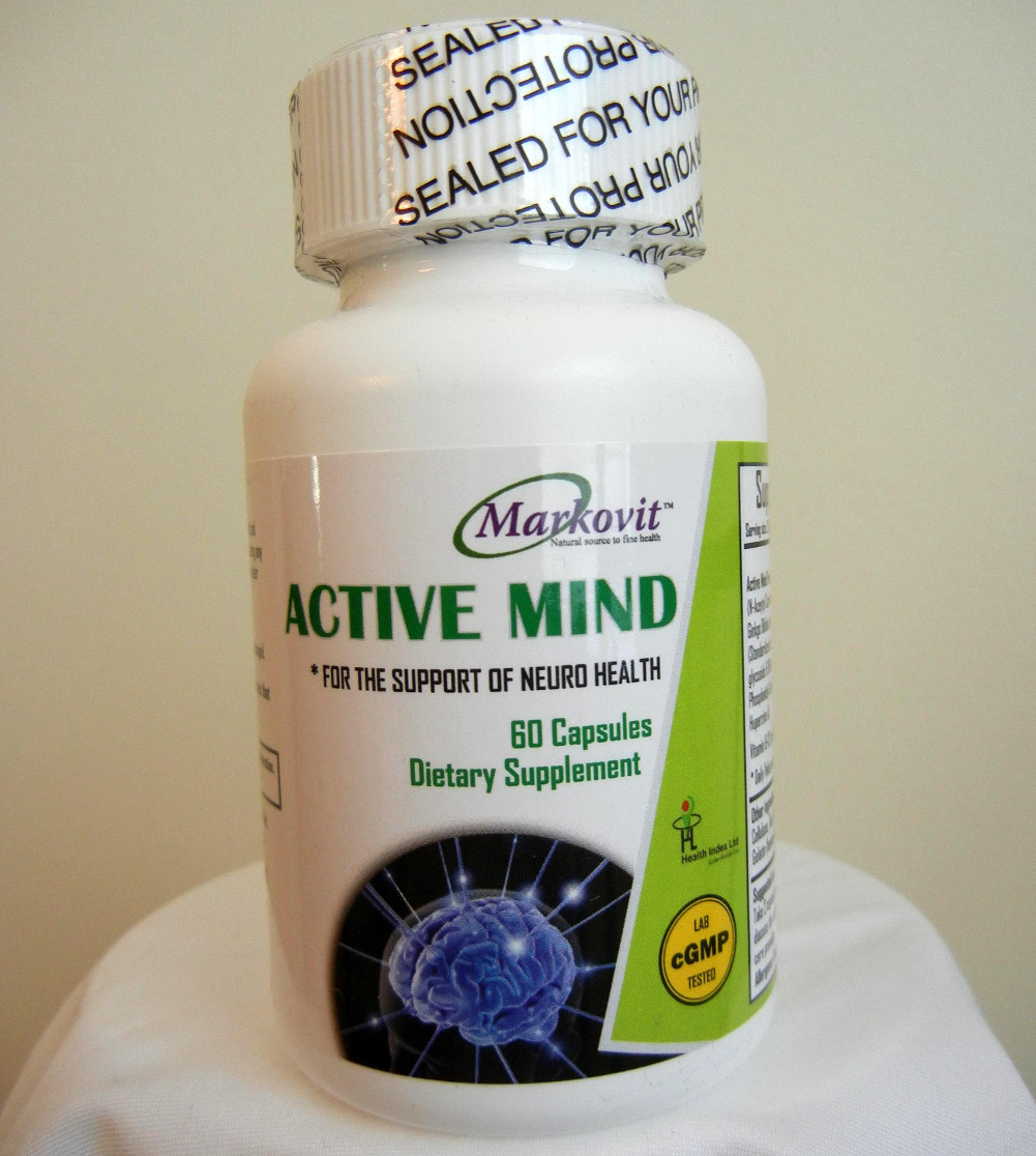 Natural memory booster supplement image 1